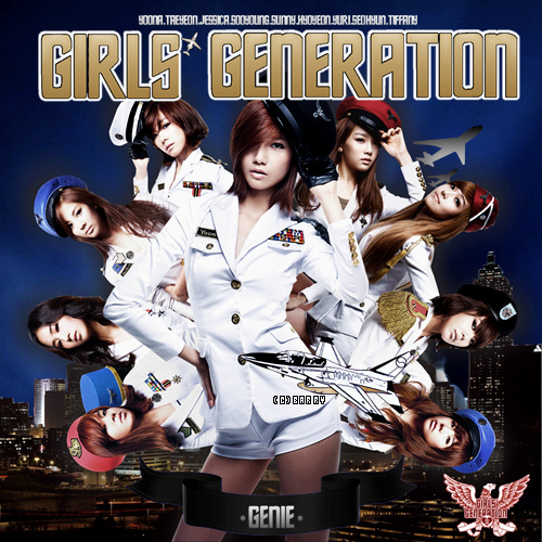 SNSD Genie Korean Version Wallpaper | All About Girls ...