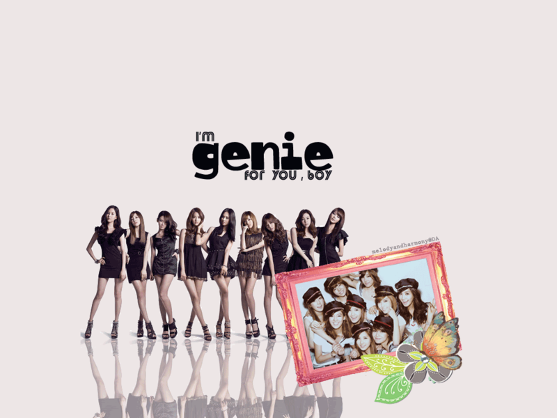 SNSD Genie Wallpaper | All About Girls Generation
