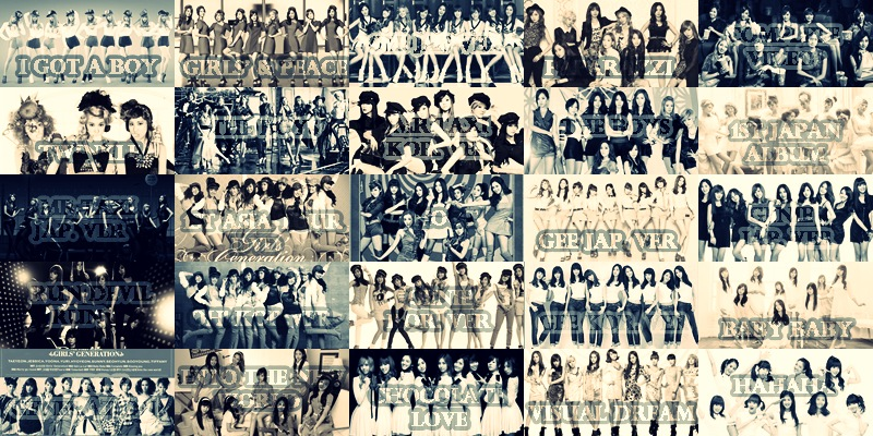 SNSD Discography (Album Information) | All About Girls ...