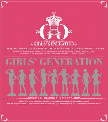 Girls' Generation (SNSD) Album Information