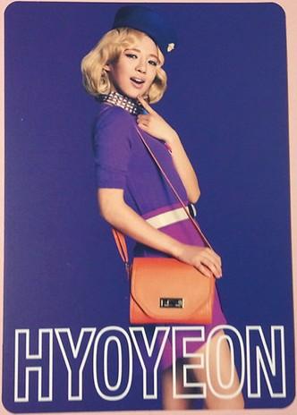 snsd hyoyeon 2nd japan tour photo cards (2)