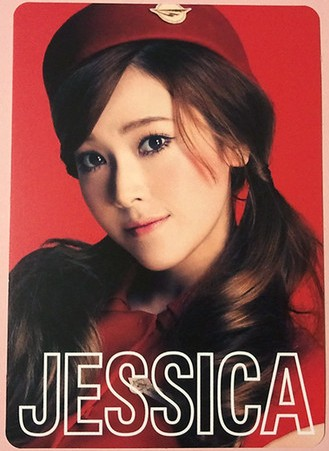 snsd jessica 2nd japan tour photo cards (1)