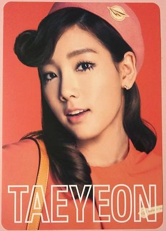 snsd taeyeon 2nd japan tour photo cards (1)
