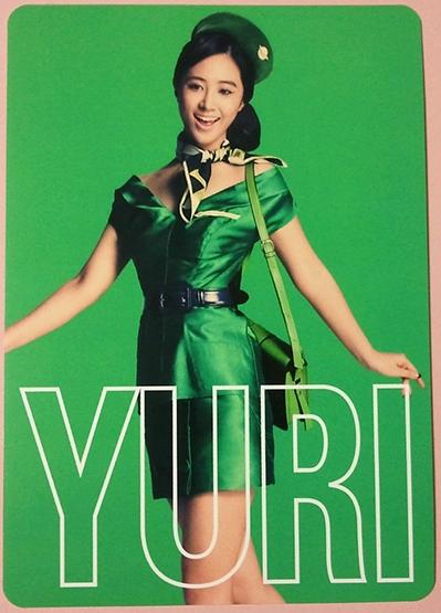 snsd yuri 2nd japan tour photo cards (1)